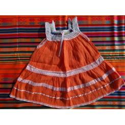 Pige kjole bomuld