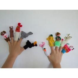 Fingerdukker mennesker