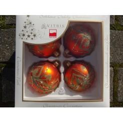 Julekugler orange