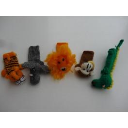 Fingerdukker vilde dyr