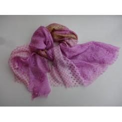Fyldigt silke tørklæde