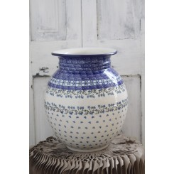 Håndmalet vase stentøj