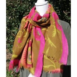 Tørklæde 100 % uld