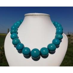 Tagua perle halskæde