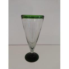 Cocktail / Isglas grøn kant